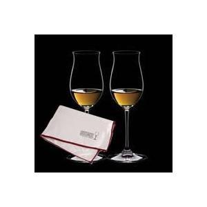 送料無料 マイクロファイバー・ポリッシング・クロス付属 リーデル RIEDEL ヴィノム ワイングラス コニャック 6416/71 ペア  クロス新0010/07(旧5010/07)|livingwell-de