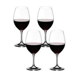 リーデル RIEDEL オヴァチュア ワイングラス 赤ワイン 4本セット 6408/00|livingwell-de