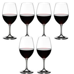 リーデル RIEDEL オヴァチュア ワイングラス 赤ワイン 6本セット 6408/00|livingwell-de