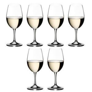 送料無料 リーデル RIEDEL オヴァチュア ホワイトワイングラス 6408/05 6本セット |livingwell-de