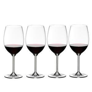 送料無料 リーデル RIEDEL ワインシリーズ 6448/0 4本セット カベルネ/メルロ ワイングラス|livingwell-de