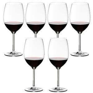 送料無料 リーデル RIEDEL ワインシリーズ 6448/0 6本セット カベルネ/メルロ ワイングラス|livingwell-de