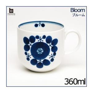 白山陶器 ブルーム  マグカップ 360ml ブーケ /HAKUSAN/はくさん/和陶器/洋食器/有田焼/波佐見焼/HASAMI|livingwell-de