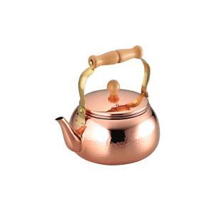 アサヒ 食楽工房 匠-TAKUMI- 純銅 ケトル 径18cm 2.4L CNE307 やかん|livingwell-de