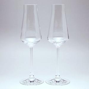 バカラ Baccarat シャトー シャンパンフルートグラス ペア  2-611-149 結婚祝い 敬老の日|livingwell-de