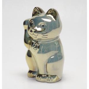バカラ Baccarat 置物 招き猫 ゴールド 2-612-997 livingwell-de 02