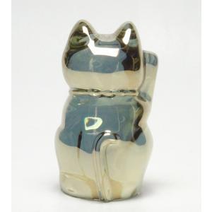 バカラ Baccarat 置物 招き猫 ゴールド 2-612-997 livingwell-de 03