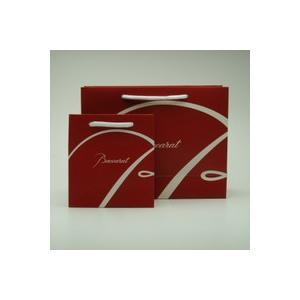 バカラ のロゴ入り紙袋 S|livingwell-de