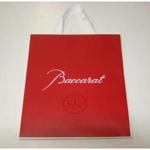バカラ のロゴ入り紙袋 L 新しいデザインです|livingwell-de