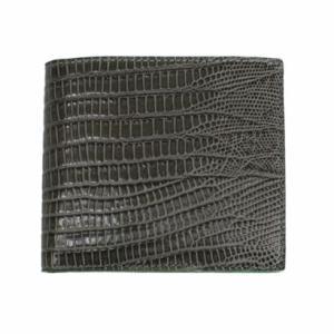 送料無料  DAVID ALBERTARIO (ITALY) ダビデ・アルベルタリオ メンズ二つ折り財布(小銭入れ付)グレー/グリーン [2033/TEJUS G/V]|livingwell-de