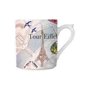 ジアン (Gien) Paris.Paris(パリ・パリ) マグカップ 300ml 結婚祝い 敬老の日|livingwell-de
