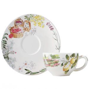 正規代理店品 ジアン Provance プロヴァンス ティーカップ&ソーサー Tea C/S 200ml 17742PTH|livingwell-de