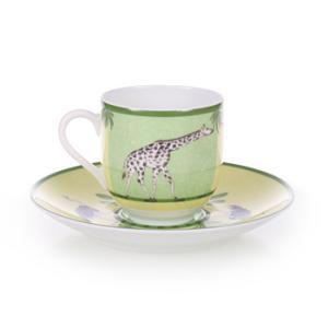 エルメス HERMES  アフリカ ペア コーヒー カップ&ソーサー Coffee C/S (Cup and Saucer) 3217 livingwell-de 02