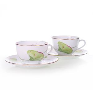 エルメス HERMES  ナイル ペア ティー カップ&ソーサー Tea C/S (Cup and Saucer) 4216 結婚祝い 敬老の日 livingwell-de