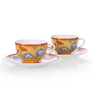 エルメス HERMES  シエスタ ペア ティー カップ&ソーサー Tea C/S (Cup and Saucer) (Cup and Saucer) 3116 結婚祝い 敬老の日 livingwell-de