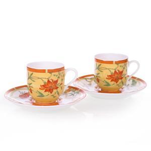 エルメス HERMES  シエスタ ペア コーヒー カップ&ソーサー Coffee C/S (Cup and Saucer) 3117|livingwell-de
