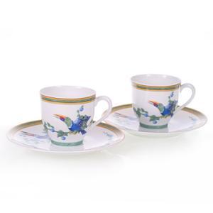 エルメス HERMES  トゥーカン トゥカン ペア コーヒー カップ&ソーサー Coffee C/S (Cup and Saucer) 0317|livingwell-de
