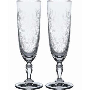ボヘミア Bohemia  ボヘミアンドリーム シャンパンフルートグラス ペア  KA822/220|livingwell-de