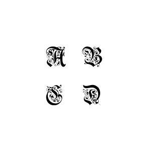 代引き不可 グラスへの名入れ 花文字を一文字お入れいたします レリーフ・エッチング・名入れ・彫刻 結婚祝い |livingwell-de
