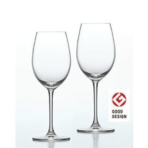 東洋佐々木ガラス ファインクリスタル パローネ PALLONE ペアワイングラス 355ml G450-S51 livingwell-de
