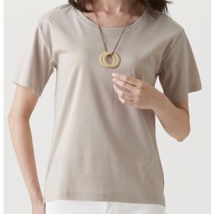 セルヴァン 綿100%汗ジミ目立ちにくいTシャツ|lizelize