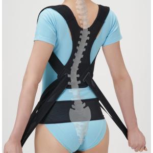 セルヴァン 丸まった背中を起こす姿勢のサポーター 肩甲骨&背すじ&骨盤を引き締め 日本製 lizelize