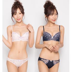 グラマーブラセット E85〜G95 ブラ&ショーツセット|lizelize