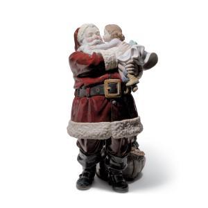Lladro (リヤドロ) クリスマス サンタクロース 贈物 プレゼント     「幸せを届けに #1960」 lladro-daisuki