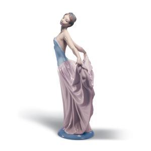 Lladro (リヤドロ) 女性 ダンス 気品 パーティー     「踊る少女 #5050」|lladro-daisuki