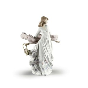 Lladro (リヤドロ) 女性 輝き 優雅 優美 気品    「春の輝き #5898」|lladro-daisuki