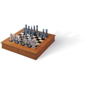 Lladro (リヤドロ) 高級 インテリア 対戦 ゲーム 西洋将棋    「チェスセット(RE-DECO) #6333」 lladro-daisuki