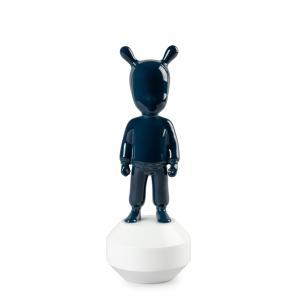 Lladro (リヤドロ) ゲストシリーズ ファンタジー 青 ブルー     「The Dark Blue Guest- 小 #7750」 lladro-daisuki