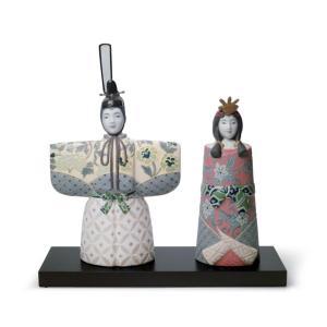 Lladro (リヤドロ) 雛人形 ひな人形 お雛様 桃の節句 女子    「立雛 #8437」 lladro-daisuki