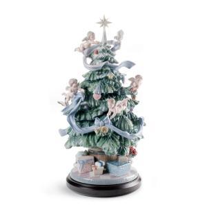 Lladro (リヤドロ) 天使 エンゼル クリスマス キリスト教     「幸せの魔法 #8477」 lladro-daisuki