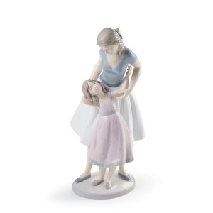 Lladro (リヤドロ) 母子 母娘 親子 愛情 安らぎ 憩い   「ママみたいになりたいの #8482」|lladro-daisuki