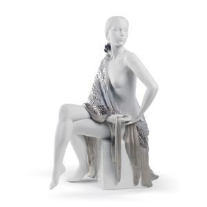 Lladro (リヤドロ) 女性 裸婦 ヌード スペイン     「セビリアの娘(Re-Deco) #8673」 lladro-daisuki