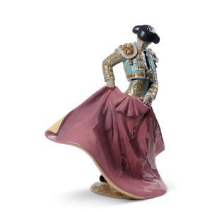 Lladro (リヤドロ) 男性 ヒーロー 英雄 闘牛 スペイン 伝統 文化  「勇敢な闘牛士(Green) #8730」|lladro-daisuki
