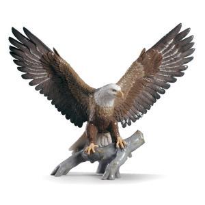 Lladro (リヤドロ) 鷲 鳥 白頭鷲      「FREEDOM EAGLE #9245」|lladro-daisuki