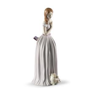 Lladro (リヤドロ) 女性 乙女 ドレス パーティー エレガント    「パーティー会場へ =Annual Piece= #9378」 lladro-daisuki