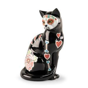 Lladro (リヤドロ) 動物 猫 ネコ ねこ     「シュガースカルキャット #9481」 lladro-daisuki