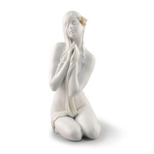 Lladro (リヤドロ) 女性 乙女 平和 祈り ヌード    「内なる平和 #9487」|lladro-daisuki