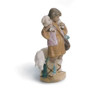 Lladro (リヤドロ) キリスト教 宗教 クリスマス      「羊飼いの少年(グレス) #12284」|lladro-daisuki