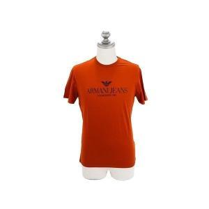 ARMANI JEANS アルマーニジーンズ メンズ半袖Tシャツ C6H6E FF 9G バーミリオ...