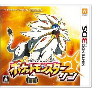 【新品】3DS ポケットモンスター サン【2個までポスト投函便可】【ポケモン】【任天堂】 llhat