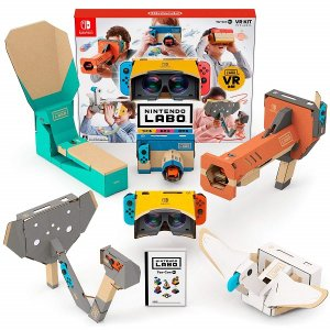 『Nintendo Labo Toy-Con 04: VR Kit』では、「VRゴーグル」をはじめ、...