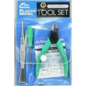 ミネシマ プラモデル工具セット 4点セット [A-2]|llhat