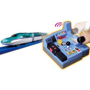 プラレール 乗車確認!出発進行!まるごと鉄道体験!E5系はやぶさコントロールセット【タカラトミー】|llhat