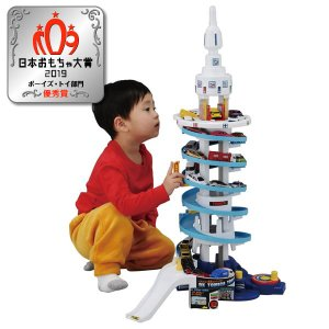 トミカワールド  でっかく遊ぼう!DXトミカタワー【タカラトミー】|llhat
