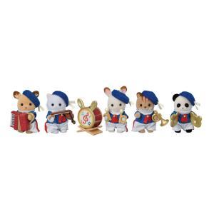 シルバニアファミリー 赤ちゃんセレブレーションマーチングバンド【35周年限定商品】【お人形】【エポック社】 llhat
