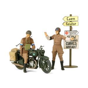 タミヤ 1/35 ミリタリーミニチュアシリーズ No.316 イギリス軍用オートバイ BSA M20 MPセット【35316】|llhat